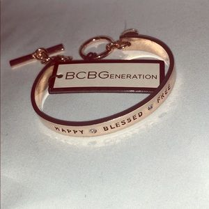BCBG Rose Gold Bracelet. NWT. OS.